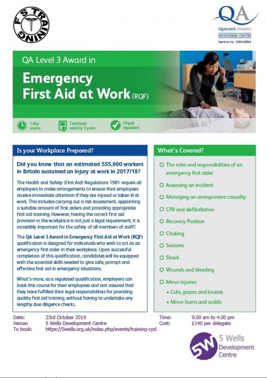 FA2310 Emergency First Aid