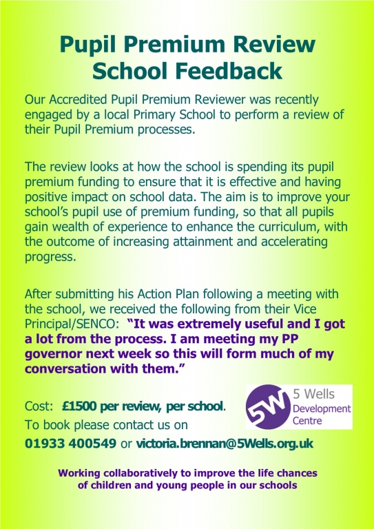 Pupil Premium Review June 2019