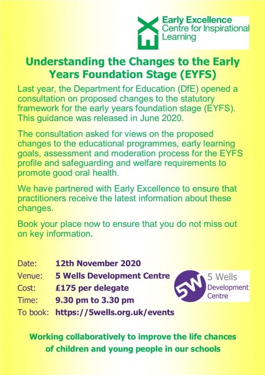EE21211 Understanding the Changes to the EYFS