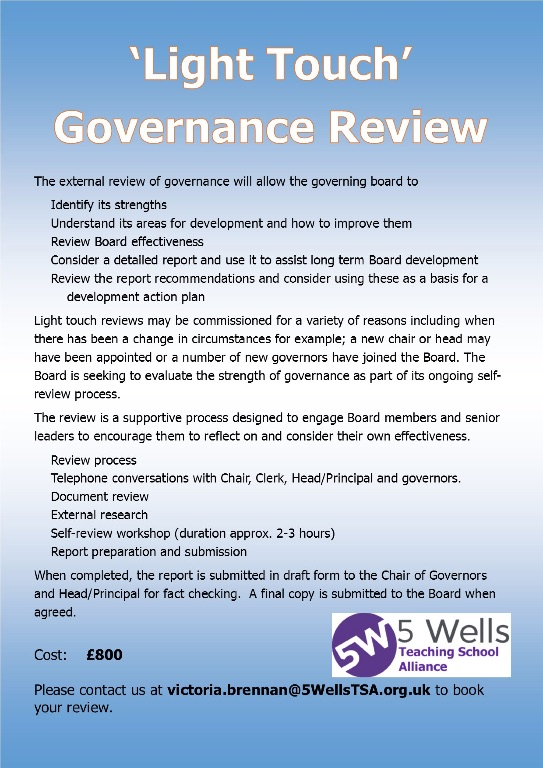 Light Touch Governance Review