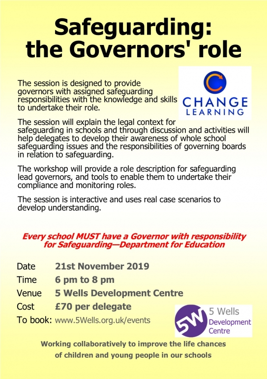 SGG2111 Safeguarding for Governors